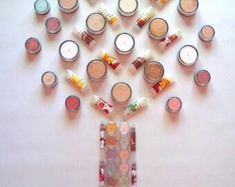 12 Sample Bags - Pure and Natural Mineral Makeup