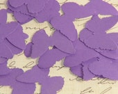 100 Purple Butterfly Die Cuts