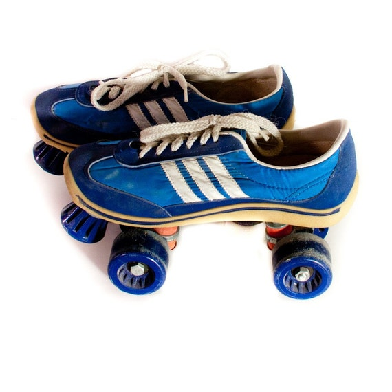 Vintage Roller Skate Shoes Sneakers Womens Mens Rollerskates