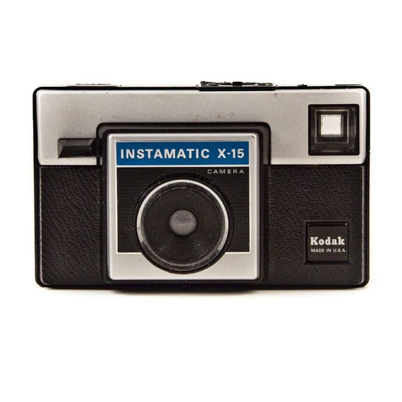 Vintage Camera Kodak Instamatic, Photography Equipment, Film, Manual Cameras, Home Decor, Office Decor, Gift For Him Goodmerchants