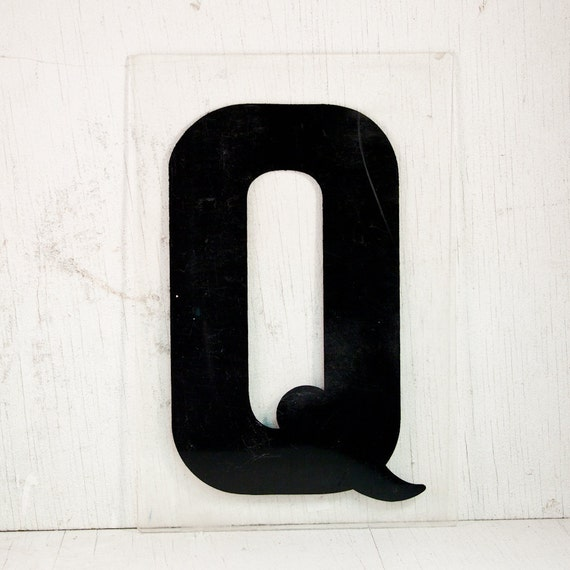 Vintage Letters Wall Decor : Vintage letter wall hanging sign by goodmerchants on etsy