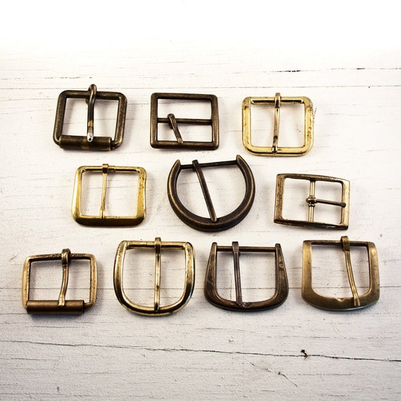 """Used Belt Buckles 1 1/2"""" Inch Belt Width Instant Collection Goodmerchants"""