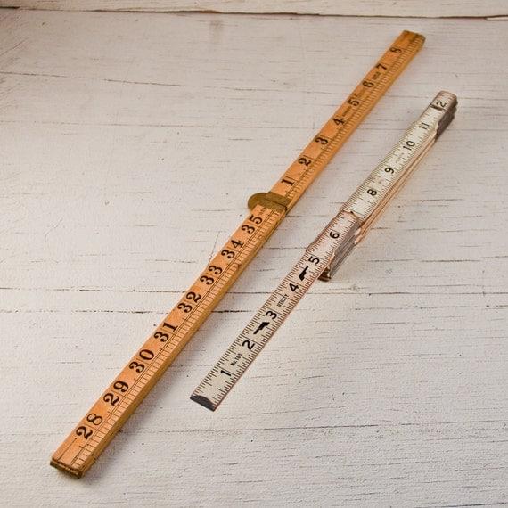 Vintage Folding Ruler Yard Stick Carpenter's Tools Goodmerchants