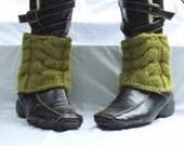 Moss Ankle Cuffs