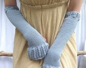 Miss Austen Gauntlets, cotton and soya