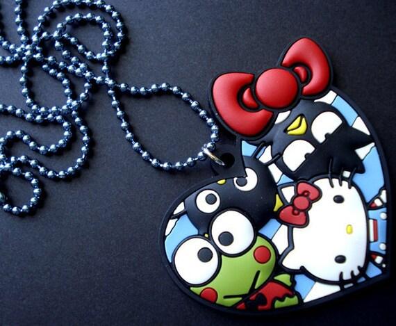 Hello Kitty & Friends Heart Necklace