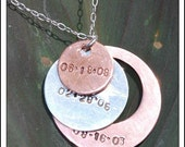Story of your life necklace