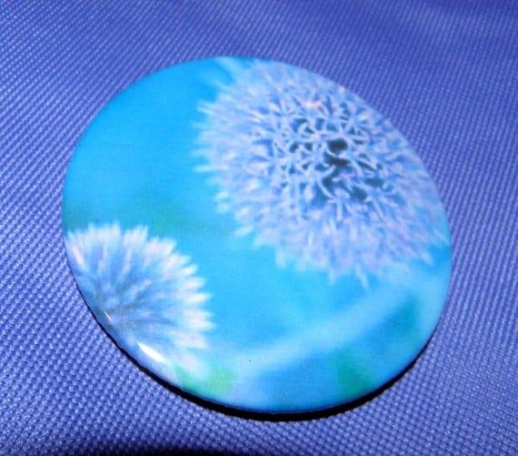 "Horton's Flower Large 3"" Pin Back Button Clover"