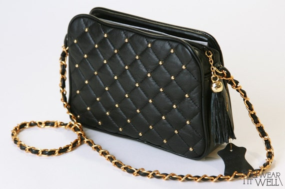 39c010b699ab Chanel Inspired Quilted Handbags. Coco Bag Chanel Inspired Quilted Leather  ...