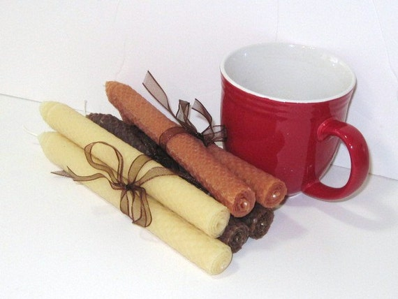 Special listing for Carolyn - Coffee Lovers Beeswax Candles