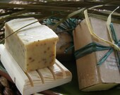 Rich and Creamy All Natural Olive Oil & Shea Butter Soaps