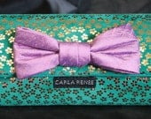 Suede Retro Flower Wallet with Bow- other colors available see swatches