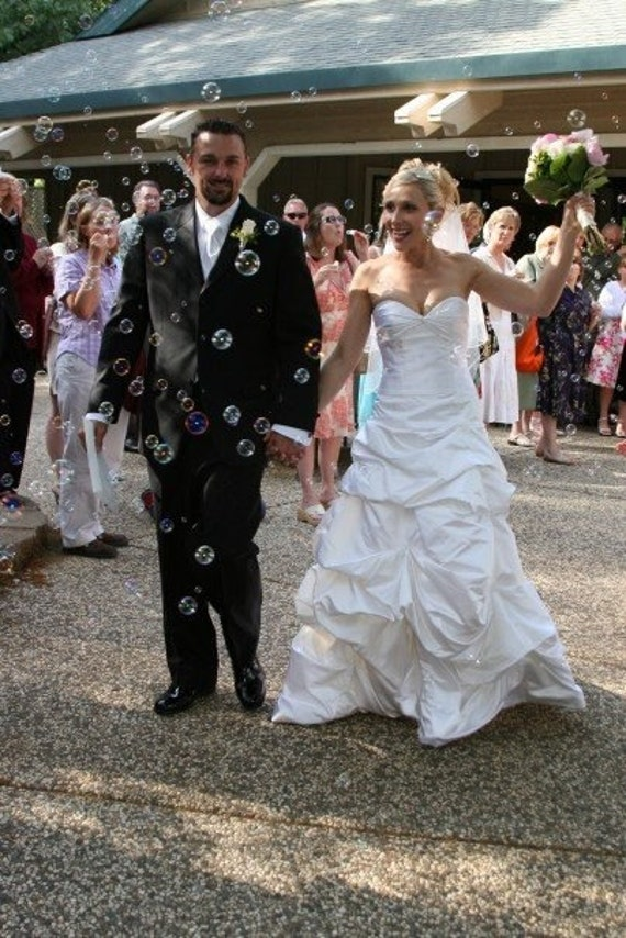 Made to Order Sweet Heart Strapless Lace-Up Wedding Gown