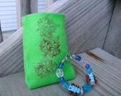 Blue Butterflies Children's Bracelet With A gift pocket
