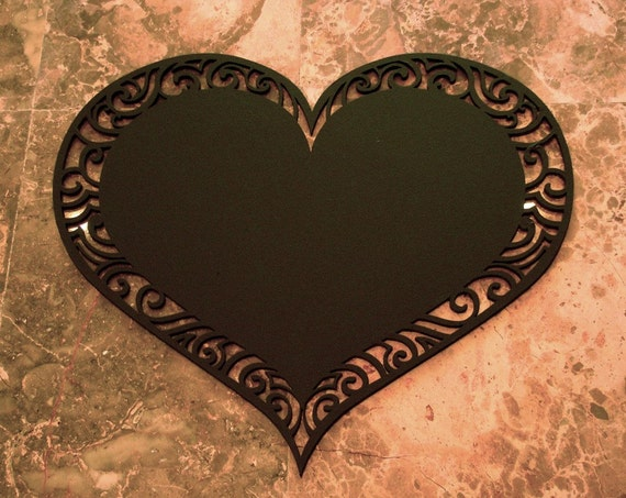 Love Heart Blackboard