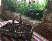 French Farmhouse Stripey Table Cloth