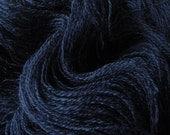 Recycled Merino Lace Yarn - Fathom Blue - Fine Recycled Yarn and Upcycled Yarn