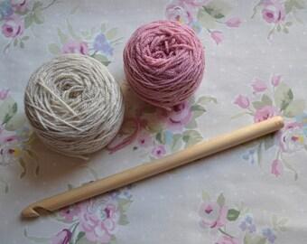 15mm Handmade Wooden Crochet Hook