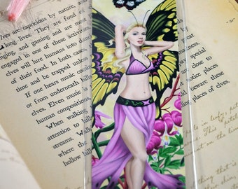 Bookmark Butterfly Fairy - The Beauty