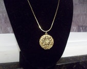 Vintage NAPIER Filigree Locket
