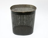 Mid Century Weibro Metal Trash Can