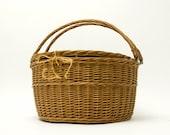 Picnic Basket - Wicker, Poland, Vintage