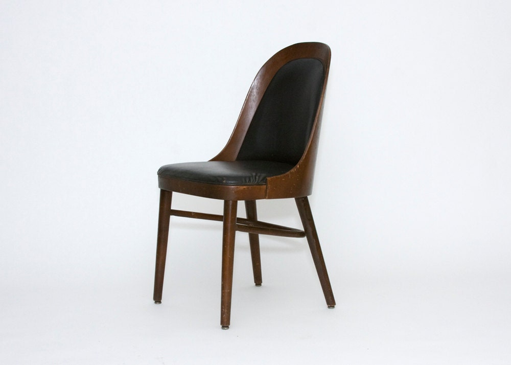 side chair shelby williams mid century modern. Black Bedroom Furniture Sets. Home Design Ideas