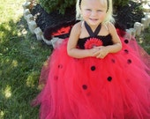 Lovely Little Ladybug Couture Halloween/Pageant Dress Infant/Toddler Custom Made