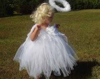 Mommy's Little Angel Halloween Costume Angel Photo Prop