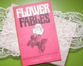 Flower Fables vintage booklet, by Geraldine E. Nicholson
