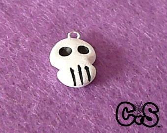 Halloween Skeleton Skull Charm