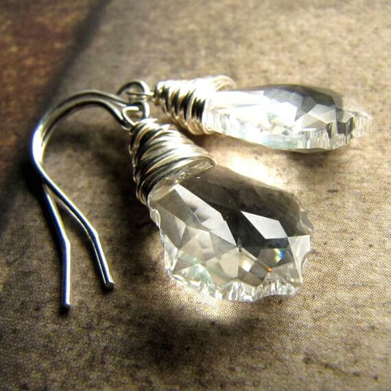 Swarovski Crystal Earrings, Crystal Baroque Sterling Silver challenevi
