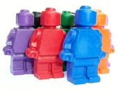 Action Figure Crayons - (Set of 9)