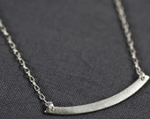 Swing Necklace in Silver