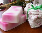 Peppermint and Tea Tree Oil Cocoa Butter Soap - 4 oz