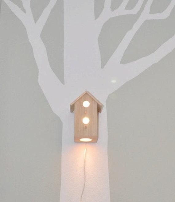 Jasper Birdhouse Lamp - Baby Nursery Lighting and Decor