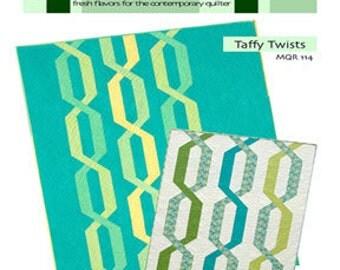 SALE - Taffy Twists-  Modern Quilt Relish Pattern