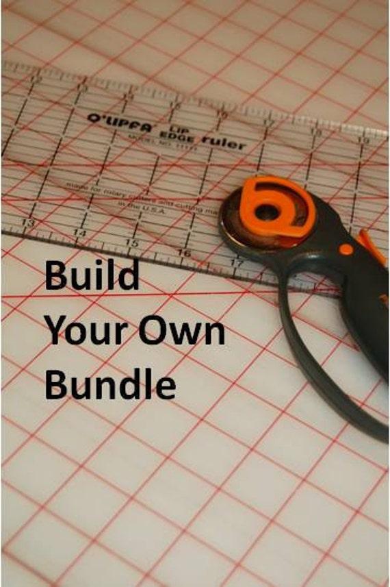 5 FAT QUARTERS-Build Your Own Custom Fabric Bundle