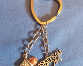 Basketball Mom Key Chain
