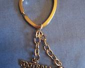 Football Mom Key Chain