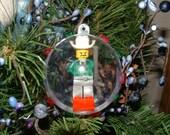 Lego Cowboy Gambler Minifigure Christmas Ornament