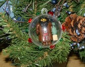 Lego Harry Potter Hagrid and Norbert  Minifigure Christmas Ornament