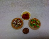 Miniature Food Magnets