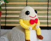 dumpty egg amigurumi doll