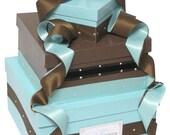 Wedding Gift Card Box with Swarovski Crystals and monogram Plaque, wishing well, money holder, money box, centerpiece