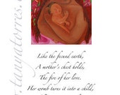 Mother Poetry Print