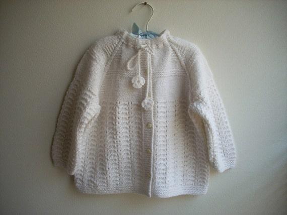 white baby cardigan fusun