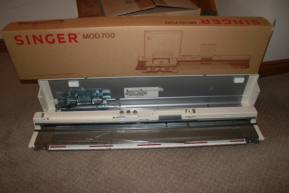 Knitting Machine Questions : Singer sk knitting machine like new