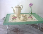 RESERVED for VanillaPixie 3 of 3 - Vintage 'Breakfast in Bed' Tray