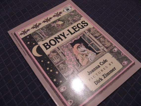 Bony Legs by Joanna Cole Scholastic Paperback 1983, Good Kid's Halloween Book